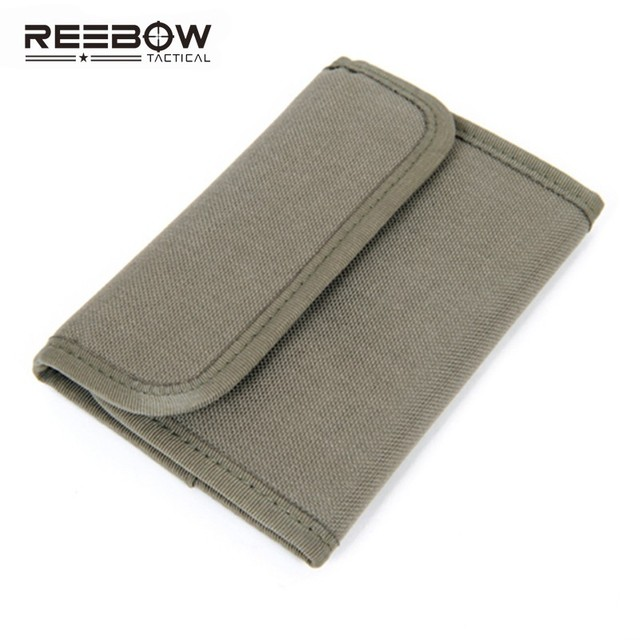 Military EDC Multifunctional Wallets Army Outdoor Camping Travel Waterproof Card Wallet Bag 1000D Nylon Drop Shipping