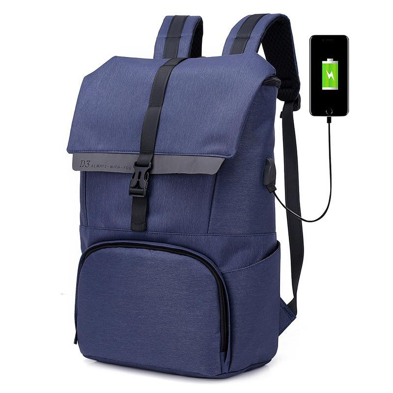 High Capacity Travel Men Backpacks Waterproof USB Charging Business Laptop Rucksack For Teenagers School Bag Mochila Feminina designer men backpacks pu leather rucksack school bag for teenagers black women laptop backpack travel bolsas mochila feminina
