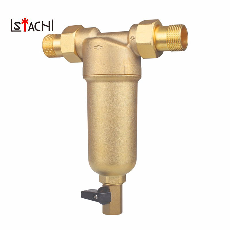 1/2 Inch 3/4 Inch 1 inch full Copper Port Cleaner Filter Household House Water Filter Pipes Central Water Purifier Descaling1/2 Inch 3/4 Inch 1 inch full Copper Port Cleaner Filter Household House Water Filter Pipes Central Water Purifier Descaling