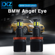 DXZ 2PCS for BMW 120W Total H8 CREE LED Angel Eyes Halo Ring Bulbs White Canbus E90 E92 E60