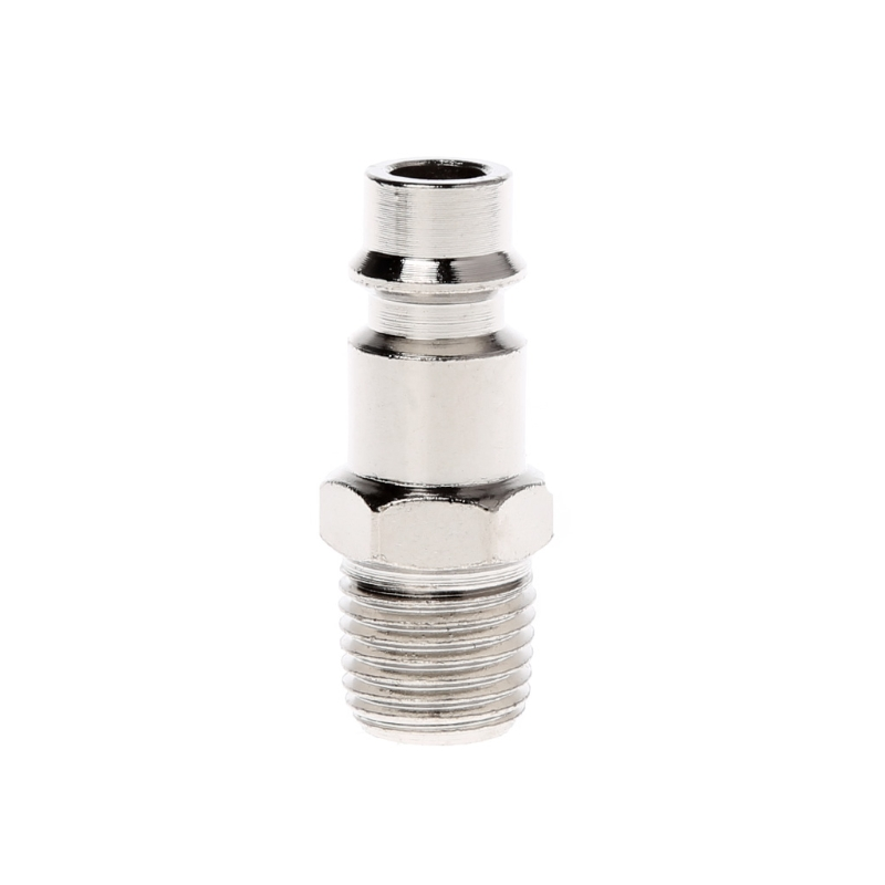 Euro Air Line Hose Fitting Connector Quick Release 1/4 Inch BSP Male Thread флип кейс euro line vivid для philips s388 черный