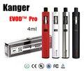 Original Kanger Evod Pro Starter Kit Top Encher a Boca com 4 ml tanque All in One Design suporte 18650 bateria mod vape