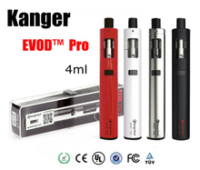 Original Kanger Evod Pro Starter Kit Top Fill Mouth with 4ml tank All in One Design support 18650 battery mod vape