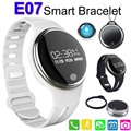 Smart Bracelet Band Bluetooth Smartwatch E07 Sports Waterproof Wristband Watches Fitness Tracker Remote Control for Android IOS