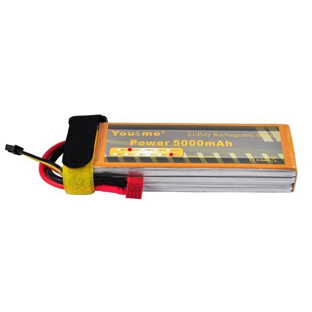 Youme 3 s 5000 мАч 11.1 В 50C Max 100C lipo Батарея Акку Перезаряжаемые Batteria для DJI F450 F550 RC вертолет автомобиля rc игрушки