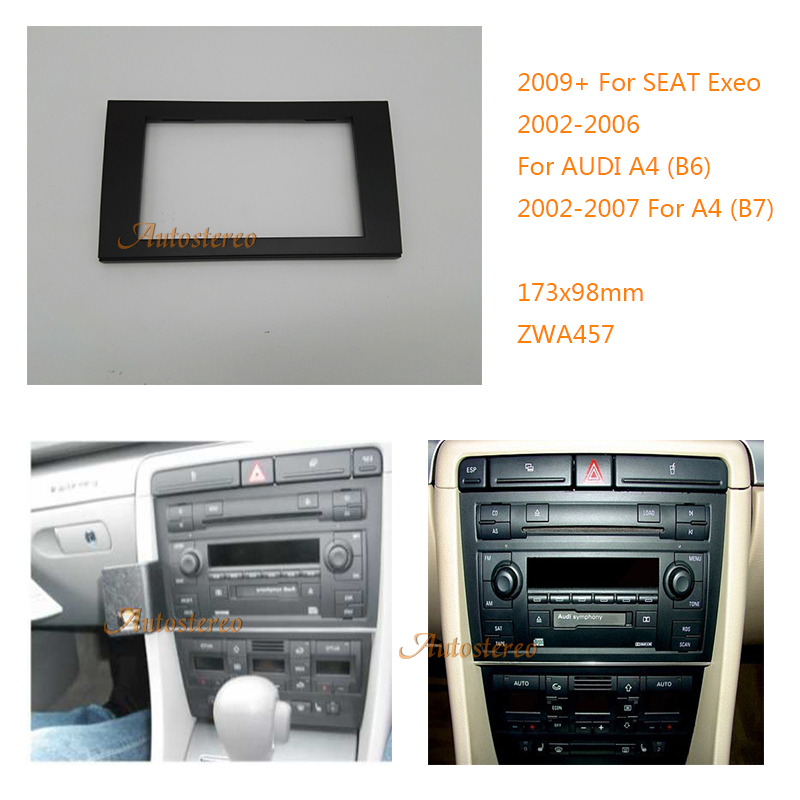 Detail Feedback Questions About Car Radio Fascia Facia Panel Adapter