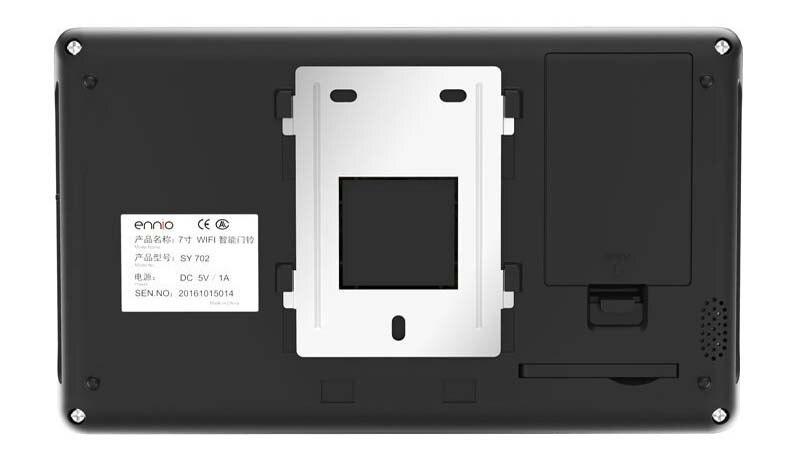 MOUNTAINONE high-definition intelligent WIFI network wireless video door phone with anti-theft alarm intercom doorbell in stock