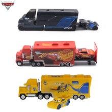 ديزني بيكسار سيارات 2 3 معدن ديكاست سيارات لعب البرق ماكوين جاكسون العاصفة كروز راميريز ماك العم نماذج من الشاحنات الأطفال هدية