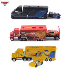 Disney Pixar Cars 2 3 Metal Diecast Car Toys Lightning McQueen Jackson Storm Cruz Ramirez Mack Uncle Truck Model Children Gift(China)