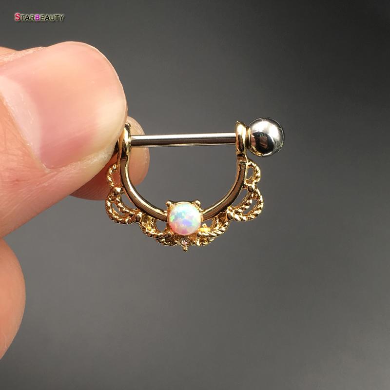 HTB1iVWkPVXXXXcxXpXXq6xXFXXXY Pretty White Opal Nose Ring Jewelry