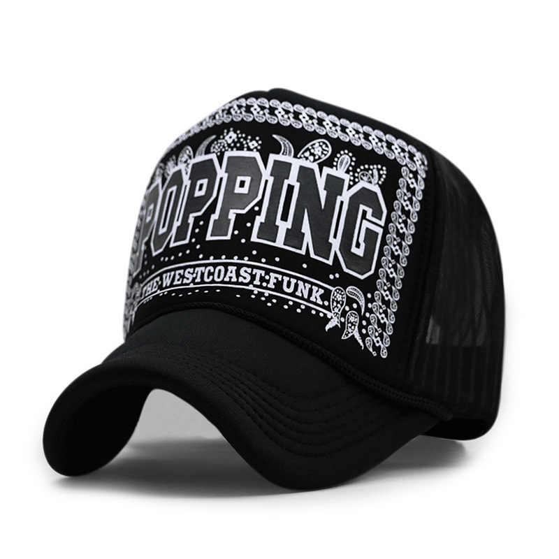 7f617377e0758 ... 60 Colors Adult Summer Mesh Trucker Caps Men Hip hop Punk Rock Snapback  Hat Women Curved