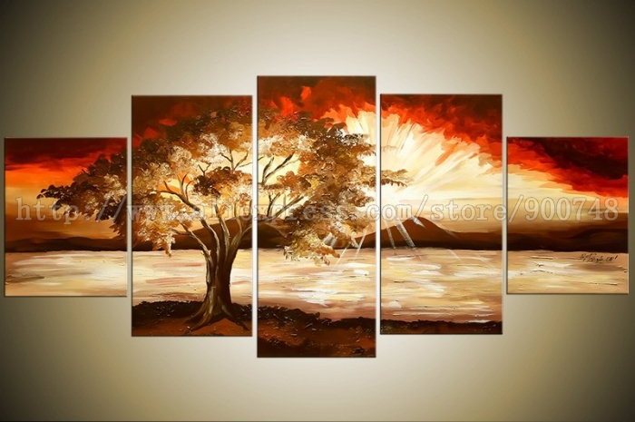 Handmade Oil Paintings For Living Room Background Canvas