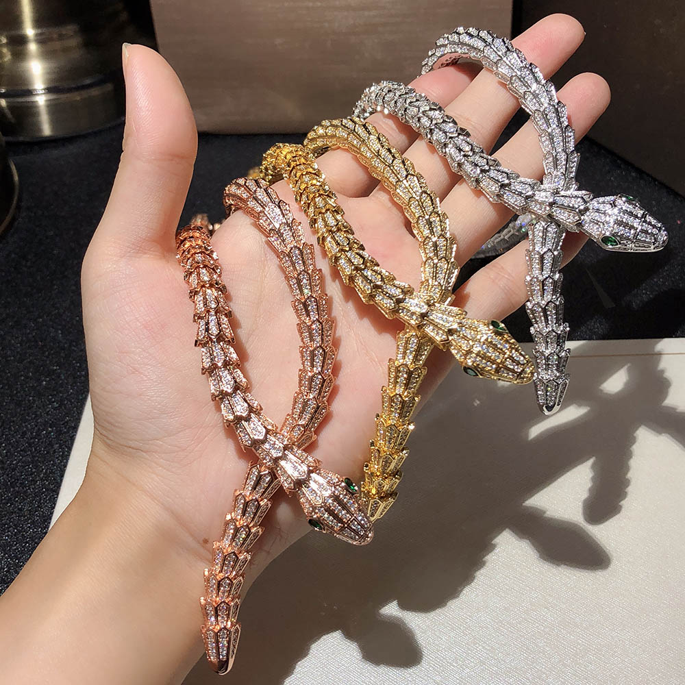 2018Top Brand Pure Jewelry For Women Snake Pendants Thick Necklace Necklace Fine Custom Jewelry