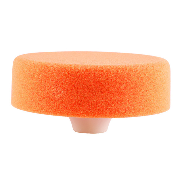 "1Pc 6""(15cm) Sponge Polishing Buffing Waxing Pad Wheel For Car Polisher Buffer Orange Polishing Buffing Car Polisher Accessories"
