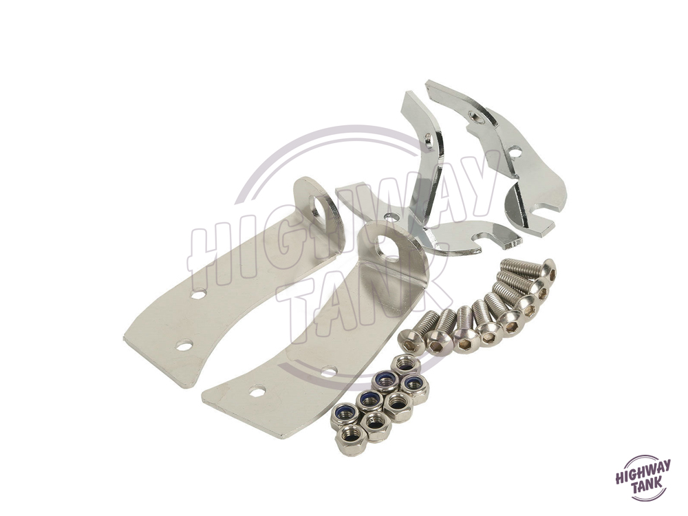Motorcycle Batwing Fairing Support Bracket Repair Kit Moto Fairing bracket case for Harley Street Glide Ultra Classic 2010 armour series rotating bracket case for moto z play gold