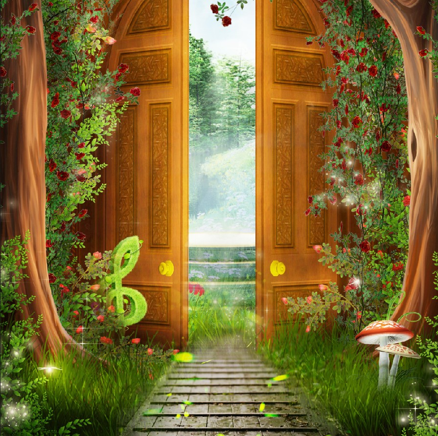 Дверь в лес картинки