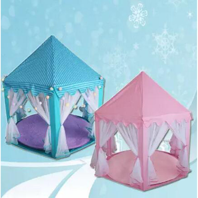 Six Side Princess Children Kid Ocean Ball Game Play Tent Outdoor Kids Hut Pool Play Tents Children's House Indoor Game Baby Toys