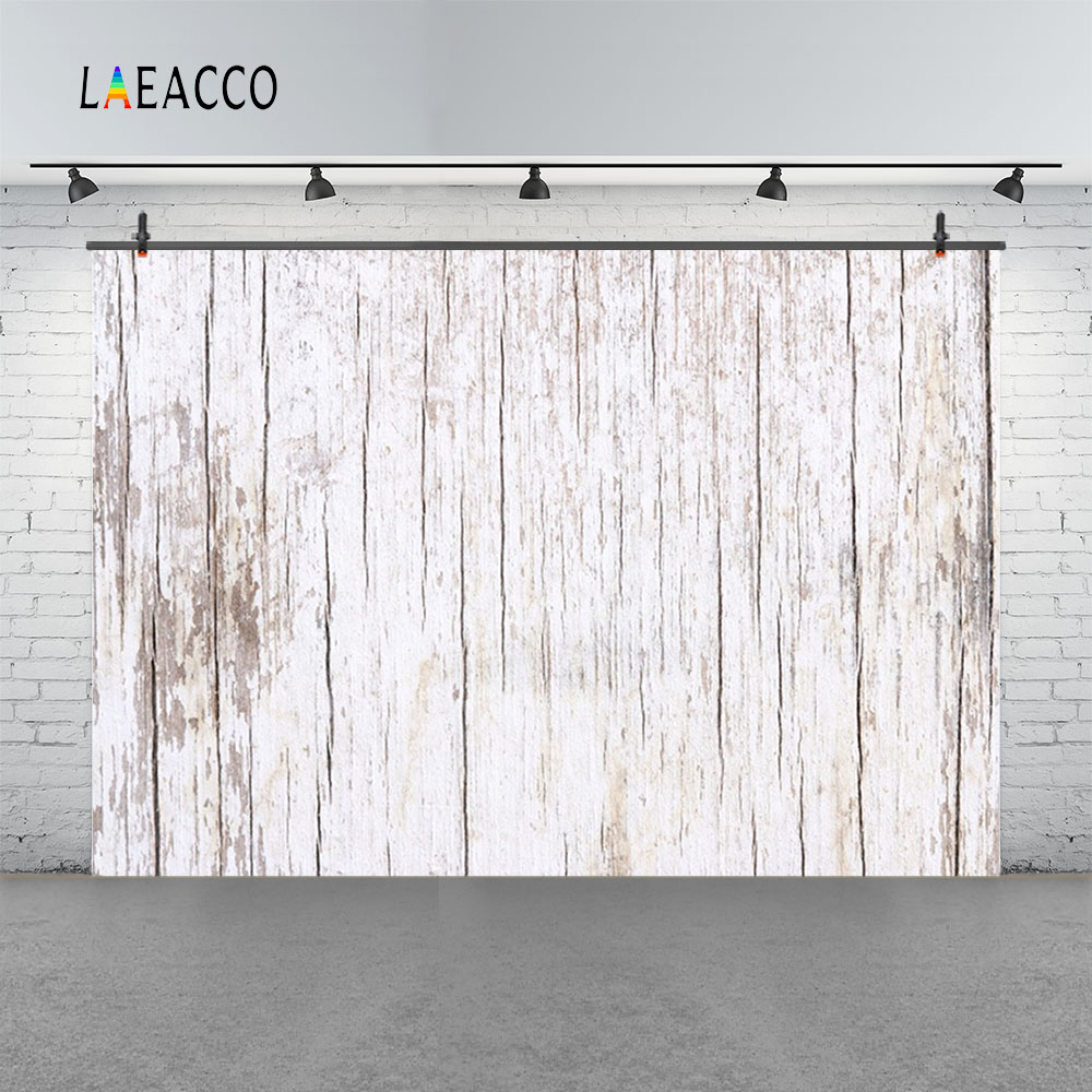 Laeacco Old Grunge Wooden Boards Plank Texture Baby Portrait Scene Photography Background Photographic Backdrop For Photo Studio in Background from Consumer Electronics