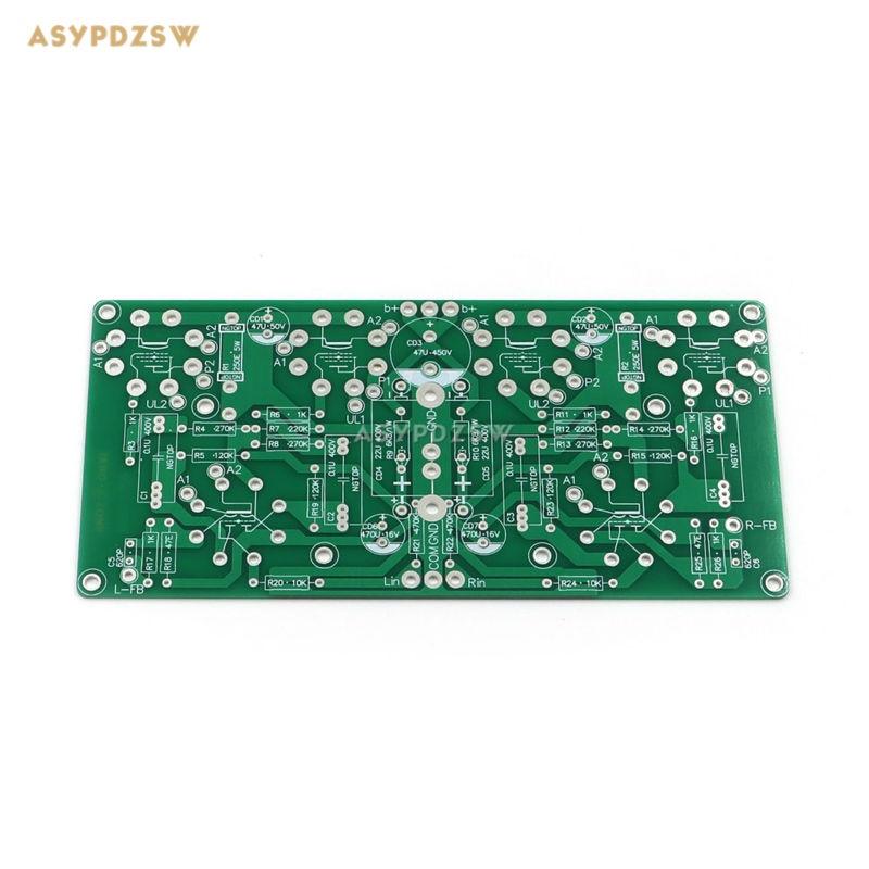 Ultra-linear push-pull type 6SL7+6V6 Tube power amplifier PCB (12W)