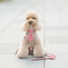 1Pc Lovely Tie Pet Dog Collar and leashes Adjustable Puppy  Quality Cat