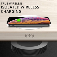 Long Distance Wireless Charger for Samsung S10/S9/S8/Note9 iPhone X/XsMax/8plus Concealed Isolation Wireless Charging for Huawei