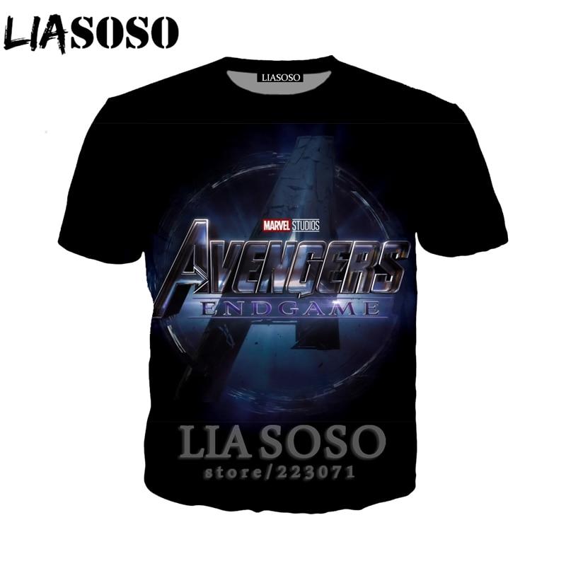 Avengers End Game New Marvel Movie Avengers 4 2019 T Shirt Size S-5XL