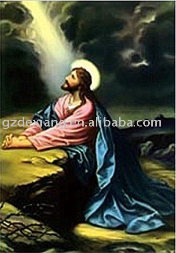 free shipping/wholesale 25*35cm Chriatian 3d picture