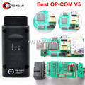 Free Shipping Newest V5 OP COM with PIC18F458 CAN BUS OBD2 OP-COM V5 OPCOM diagnostic-tool in stock