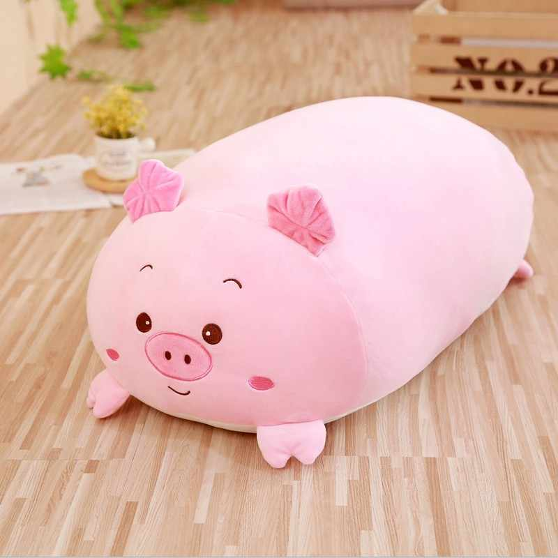 부드러운 동물 만화 베개 쿠션 귀여운 뚱뚱한 개 고양이 펭귄 돼지 개구리 봉제 인형 사랑스러운 아이 Birthyday 선물