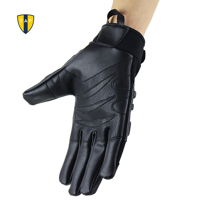 Motorcycle Racing Gloves Tactical Motor Sports Military Army Leather - Sportswear and Accessories - Photo 3