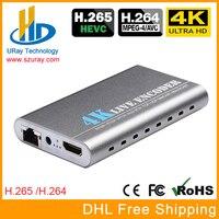 4 K со сверхвысоким разрешением Ultra HD, HEVC H.265 H.264 HDMI + микрофон позволяет кодирующее устройство ip-видео кодирующее устройство телевидения по пр...
