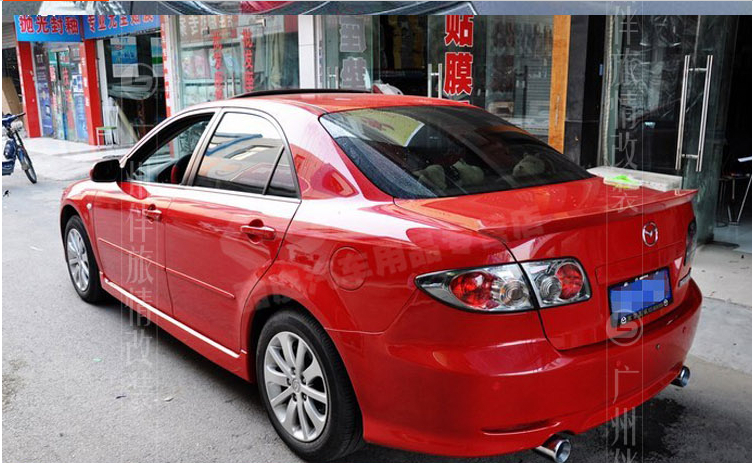 mazda 6 2006 red. aliexpresscom buy abs spoiler wing for mazda 6 2003 3004 2005 2006 2007 2008 primer unpainted from reliable suppliers on crazymotor red