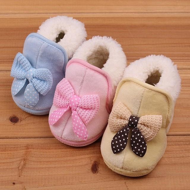 Botas envío gratis outsole suave zapatos calientes de algodón acolchado zapatos infantiles del niño botas de nieve zapatos