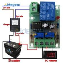 XH-M601 контроль зарядки аккумулятора 12 В интеллектуальное зарядное устройство Блок питания панель управления автоматической зарядки/выключателя