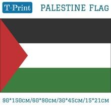 где купить Free shipping Palestine National Flag 90*150cm/60*90cm/15*21cm/30*45cm Car Flag 3x5ft Polyester Printing Banners по лучшей цене