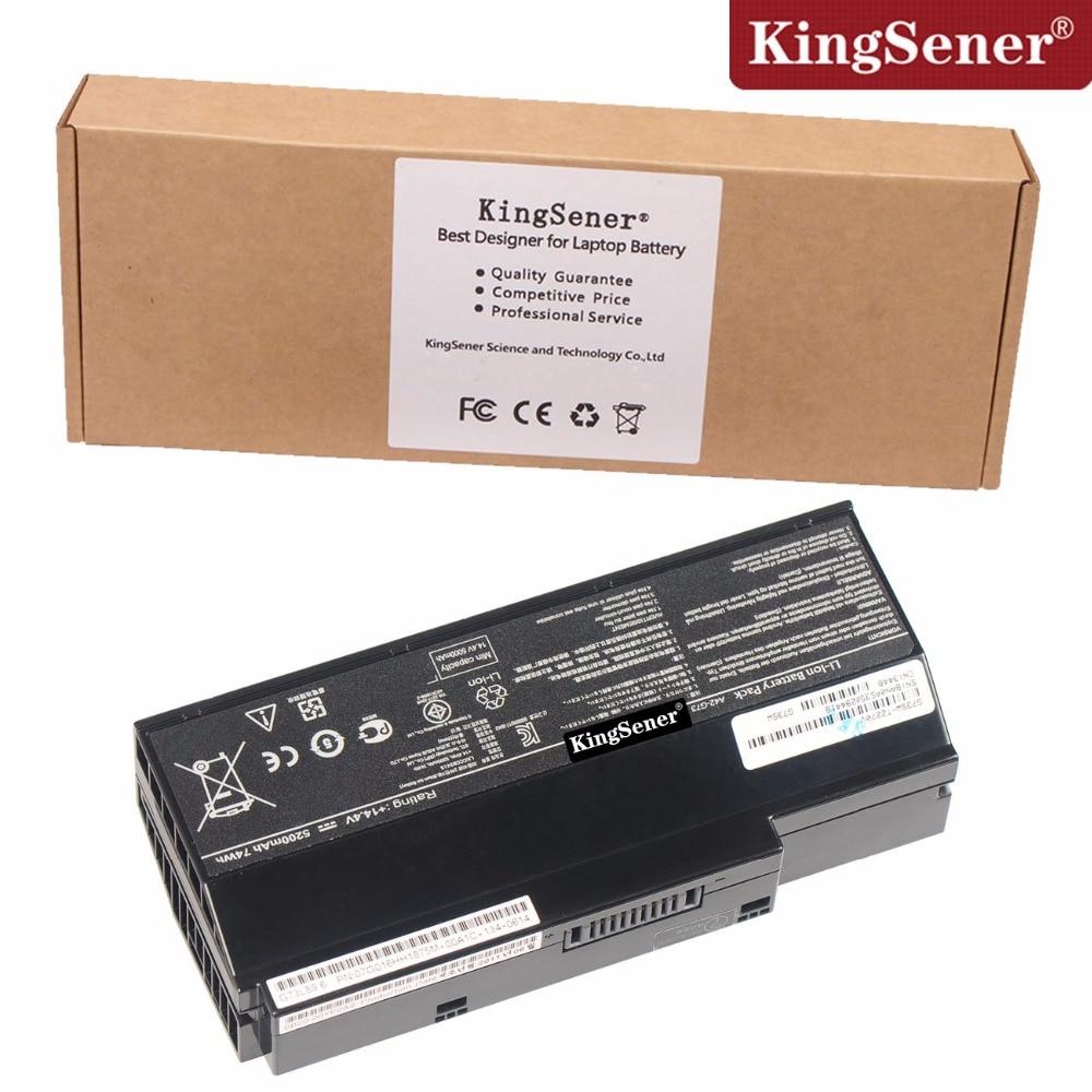 Korea Cell KingSener New A42-G73 Laptop Battery for ASUS G73 G73J G73JH G73JQ G73JW G73JX G53 G53S G53J G53JW 14.4V 5200mAh нагрев элемент тэн тип rdt 1 2квт 220в 56см