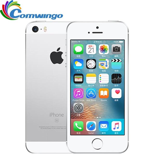 "Ban Đầu Mở Khóa Apple iPhone SE LTE Di 2GB RAM 16/ROM 64GB Dual Core IOS a9 4.0 ""Touch ID 4G LTE Di Động Điện Thoại Iphonese"