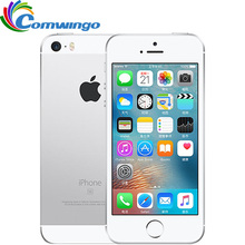 """Oryginalny odblokowany Apple iPhone SE LTE telefon komórkowy 2GB pamięci RAM, 16/64GB ROM Dual core IOS A9 4.0 """"Touch ID 4G LTE telefon komórkowy iphonese"""