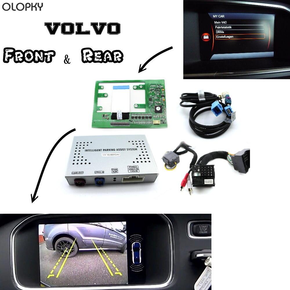 OLOPKY For Volvo Park Assist Pilot Front & Bakcup Rear