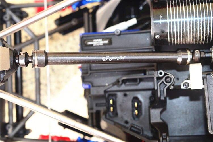Rear Hardened Steel CVD Shaft for 1/7 TRAXXAS UDR UNLIMITED DESERT RACER RC Car Upgrade Parts steel drive shaft joint cvd 110 155mm