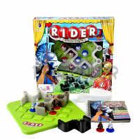 Enfants jouets Smart famille jeux de société 60 défi et Solution IQ Puzzle pensée logique jeu Jouet Enfant Intelligent