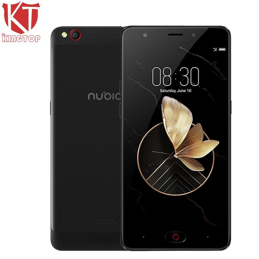 Original ZTE Nubia M2 jugar teléfono móvil 3 GB RAM 32 GB ROM 5,5 pulgadas MSM8940 Octa core 1280x720 p 13MP 3000 mAh Fingerprint celular