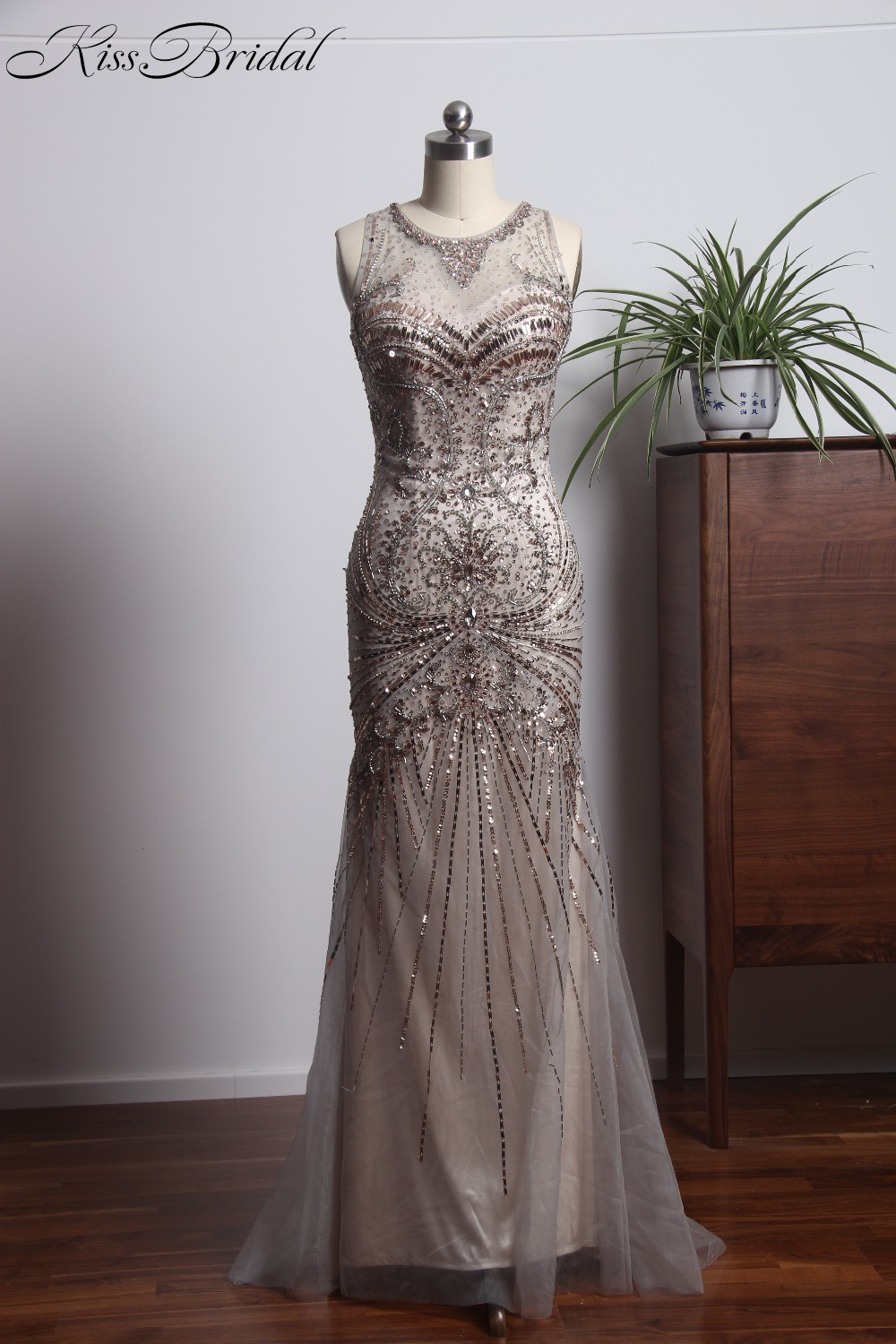 Us 2059 Vestidos Largos De Noche 2018 Luxurious Evening Dresses Long Beading Sequin Mermaid Evening Party Prom Gowns In Evening Dresses From