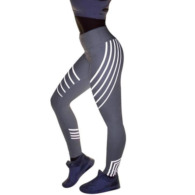 Women Fitness Yoga Laser Leggings