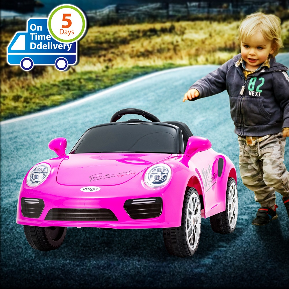 Uenjoy Kids Ride on Cars 6v Battery Power Kids Electric Vehicles with Wheels Suspension, Music,Remote Control,Headlights ...Uenjoy Kids Ride on Cars 6v Battery Power Kids Electric Vehicles with Wheels Suspension, Music,Remote Control,Headlights ...