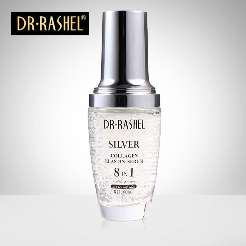 Argint de colagen elastină Ser anti-îmbătrânire îmbătrânire Ser de hidratare Acnee Tratament Whitening Face Ageless Beauty Îngrijirea pielii