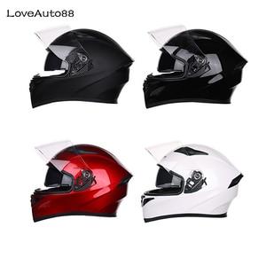 Image 5 - Full Face Professional Motorcycle Helmet Racing helmet Modular Dual lens Motorcycle Helmet for Women/Men Safe helmets