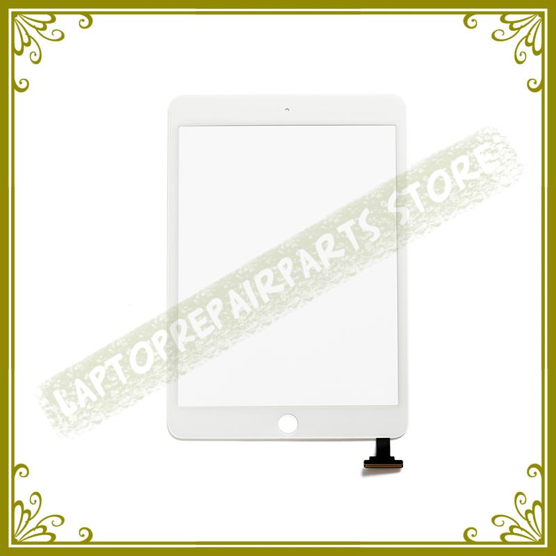 New White Black Digitizer Front Glass LCD Panel For Ipad Mini 1 2 Touch Screen 7.9 Inch Replacement Repair Part 100% Tested replacement glass touch screen digitizer for oppo x909 black