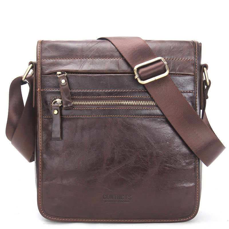 Men Genuine Leather Messenger Travel Bag Shoulder bags Casual Fashion male man Crossbody bags for Messenger men Leather bags vintage fashion men big travel bags made by genuine leather men sports hiking messenger bags cowhide shoulder bags for men 2016