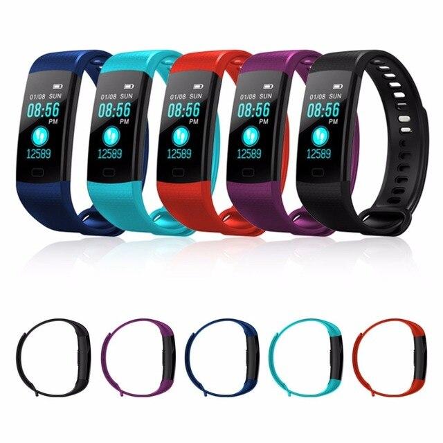 Y5 Smart Band Pulsometer Fitness Smart Bracelet Activity Tracker Pedometer Healt